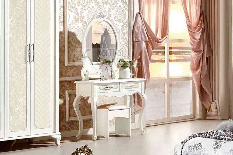 Bộ phòng ngủ gỗ tân cổ điển Pháp 13660BG-1