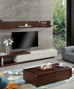 Bàn trà (Bàn Sofa) gỗ cao cấp phòng khách hiện đại BT1805-127