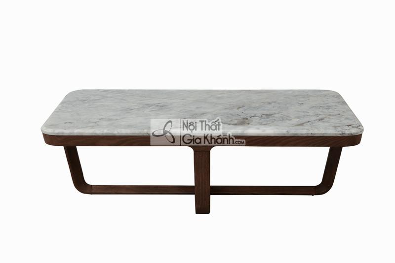 Bàn trà (Bàn Sofa) hiện đại gỗ mặt đá cao cấp BT1907-138
