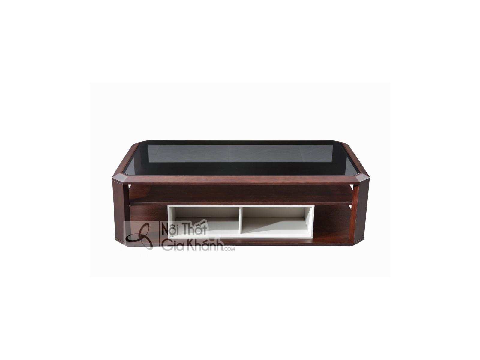 Bàn trà gỗ ngăn kéo hiện đại đẹp BT1810-138