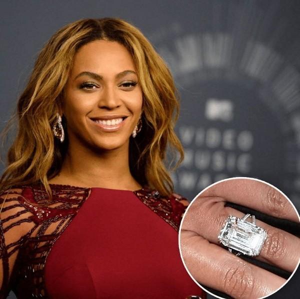 Chiếc Nhẫn Cưới 18 Carat Của Beyonce
