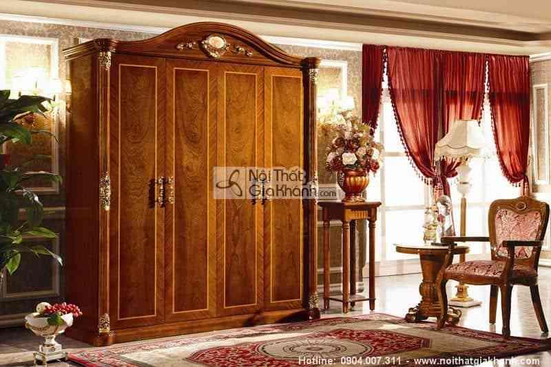 Tủ Áo 4 Cánh Kh505D