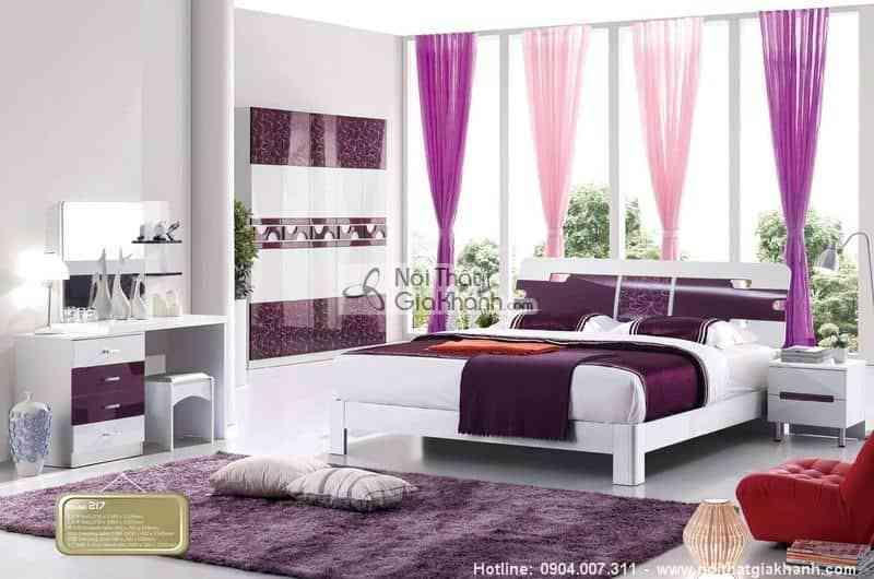 Bộ Phòng Ngủ Lovely Gỗ Công Nghiệp Hđ217Bg