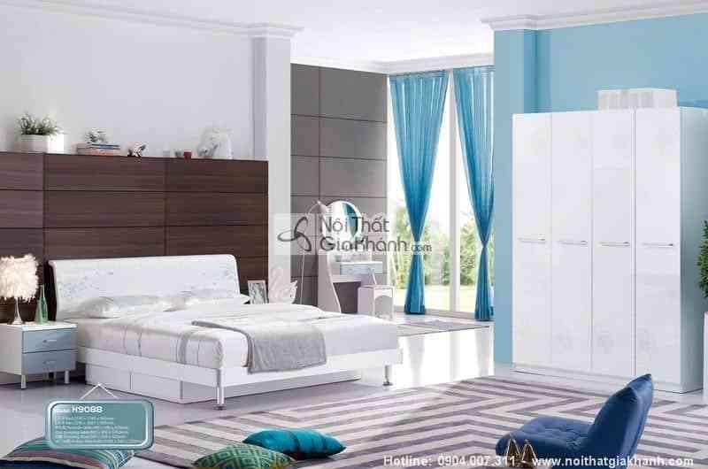 Bộ phòng ngủ phong cách hiện đại HĐ908BBG