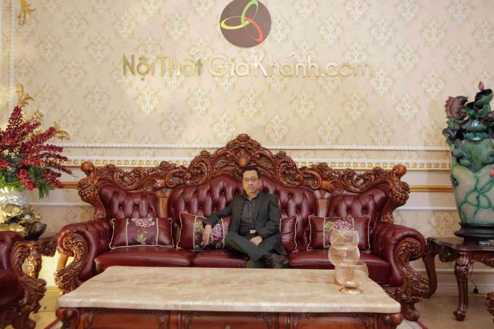 Địa chỉ cửa hàng bán Sofa đẹp tại Hà Nội - bo sofa co dien lon nhat viet nam french climbing roses 926sf