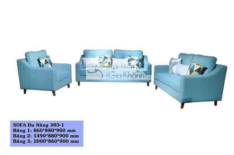 Bộ sofa đa năng 3 băng SF303-1