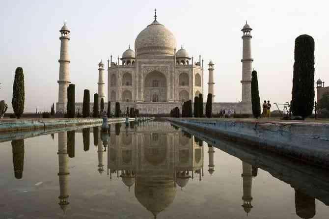 Tìm hiểu các công trình kiến trúc cổ đại phương Đông - Đền Taj Mahal