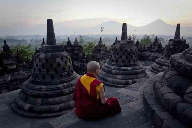 Tìm hiểu các công trình kiến trúc cổ đại phương Đông - Borobudur