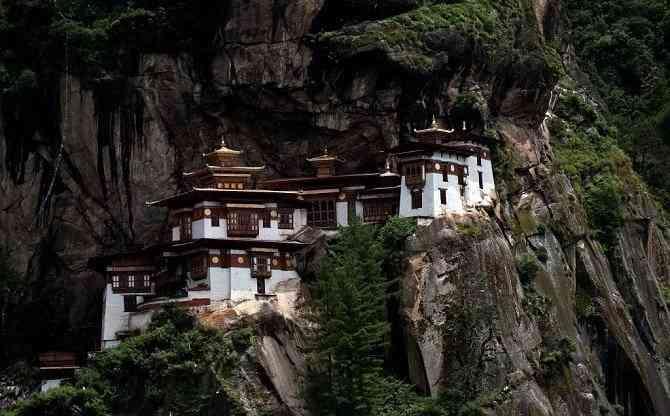 Tìm hiểu các công trình kiến trúc cổ đại phương Đông - Tu viện Taktsang