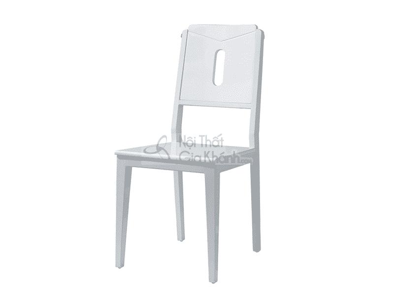 Ghế ăn nhập khẩu màu trắng CY010212