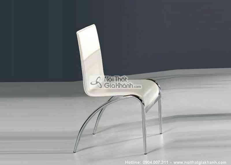 Ghế bọc da cao cấp màu trắng C072