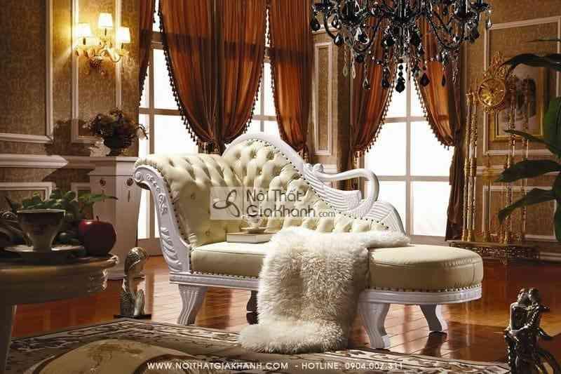 Ghế quý phi Cổ điển - Ghế Sofa thư giãn KH382STK