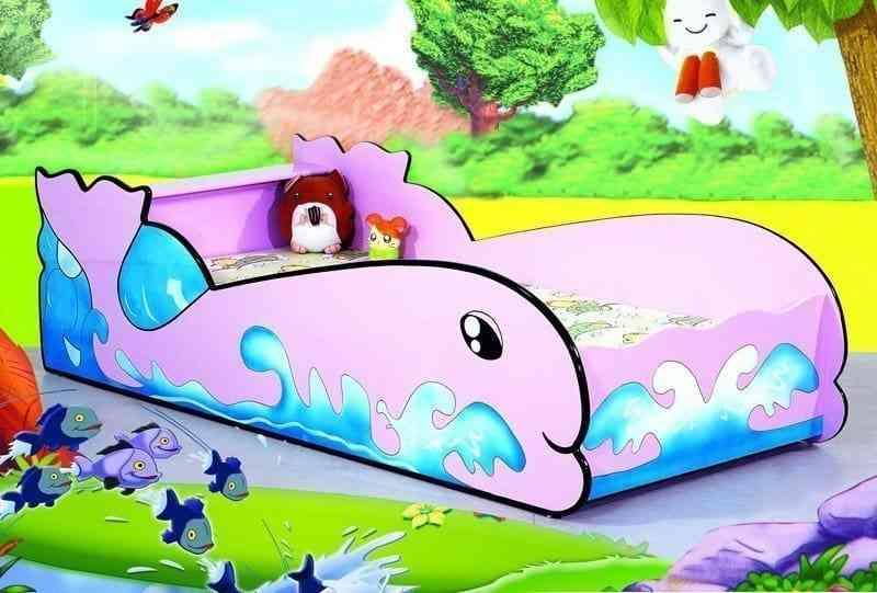 Giường hình cá Little Whale 670-1