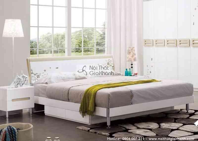 Giường kết hợp tủ 1m8 cỏ may mắn HĐ917A