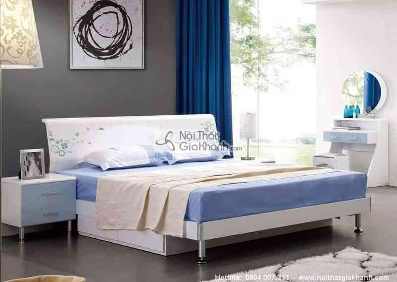 Giường ngủ 1m5 cao cấp nhập khẩu HĐ908BS