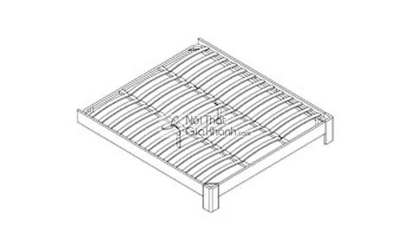 Giường hộp gỗ 1m5 cao cấp nhập khẩu HĐ201S - giuong ngu 1m5 gia re nhat ha noi hd908as 3