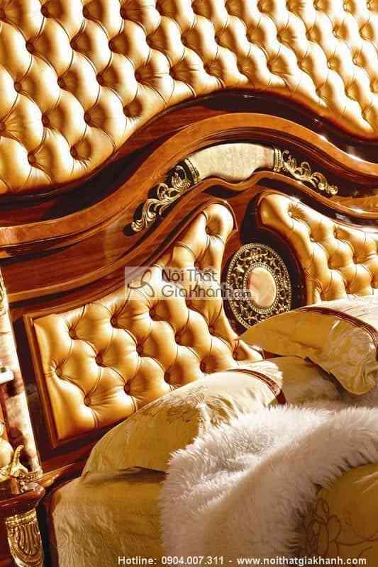 Giường Ngủ Gỗ Sồi Cao Cấp Kh511Al