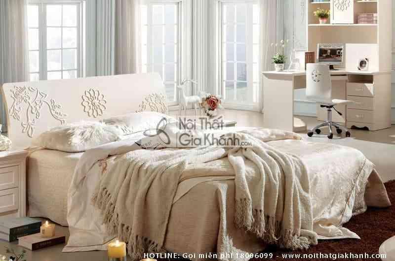 Giường ngủ JINDIAN êm ái phong cách Hàn Quốc A689A15