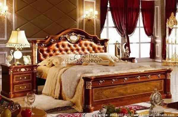 Giường Ngủ Nên Làm Bằng Gỗ Gì Thì Tốt?
