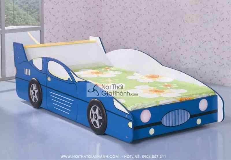 Giường xe ô tô màu xanh gỗ ép MFC F2-25