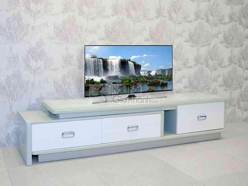 Kệ ti vi mặt kính đa năng phòng khách HY25-1