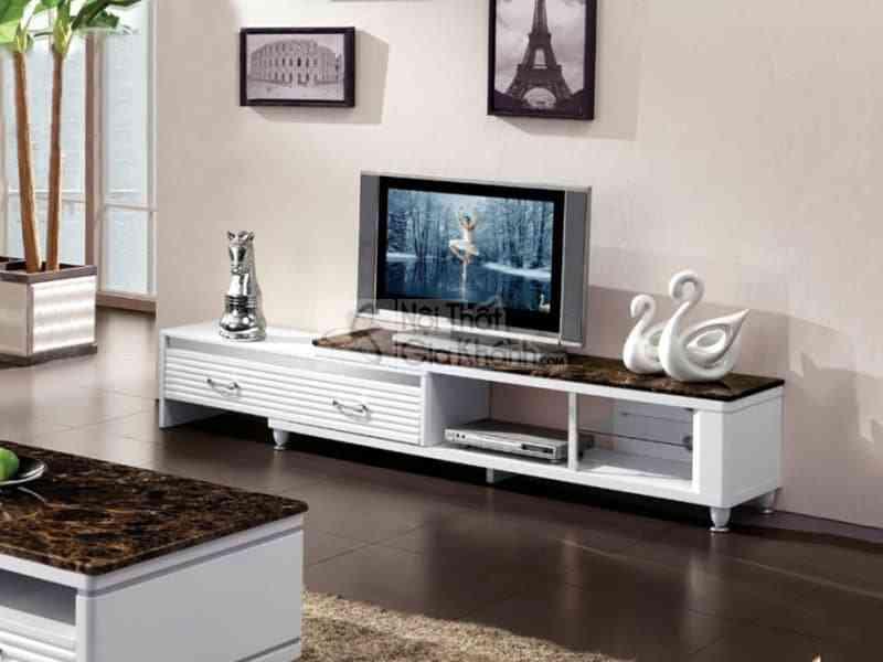 Kệ tivi cho nhà nhỏ hẹp - ke tivi da nang mat da kich thuoc 2m55 y2005051