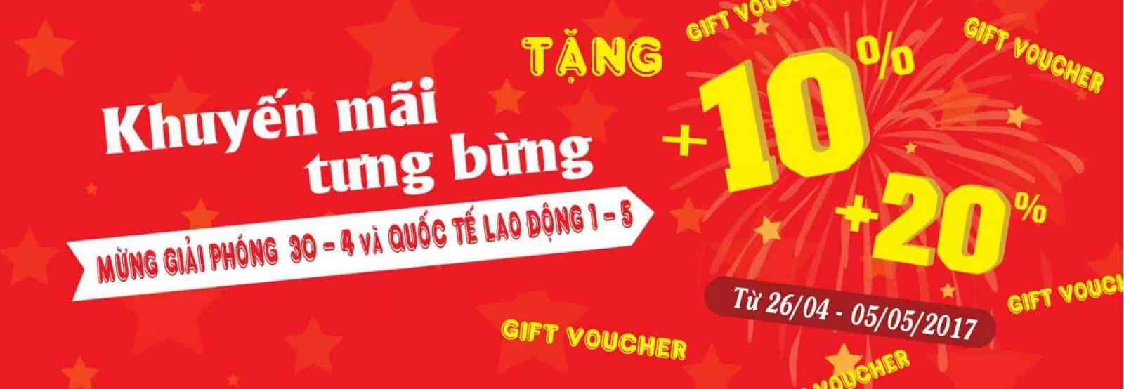 Khuyen Mai Tung Bung Mung Giai Phong