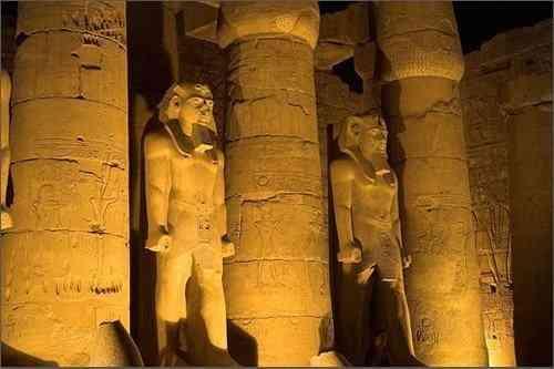 Kiến Trúc Ai Cập Cổ Đại Và Những Công Trình Vĩ Đại - Đền Luxor