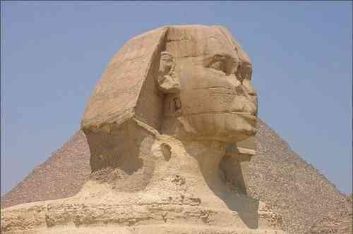 Kiến Trúc Ai Cập Cổ Đại Và Những Công Trình Vĩ Đại - Tượng Great Sphinx