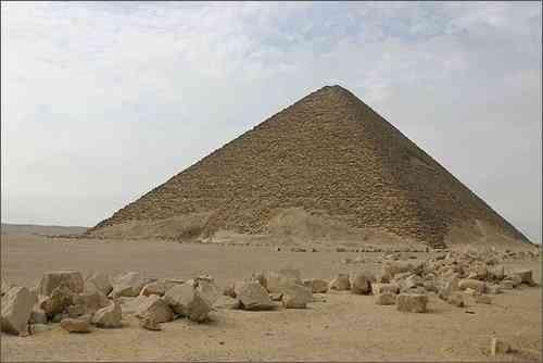 Kiến Trúc Ai Cập Cổ Đại Và Những Công Trình Vĩ Đại - Kim Tự Tháp Đỏ