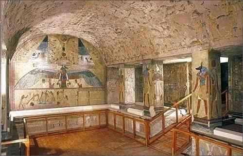 Kiến Trúc Ai Cập Cổ Đại Và Những Công Trình Vĩ Đại - Thung Lũng Của Các Vị Vua