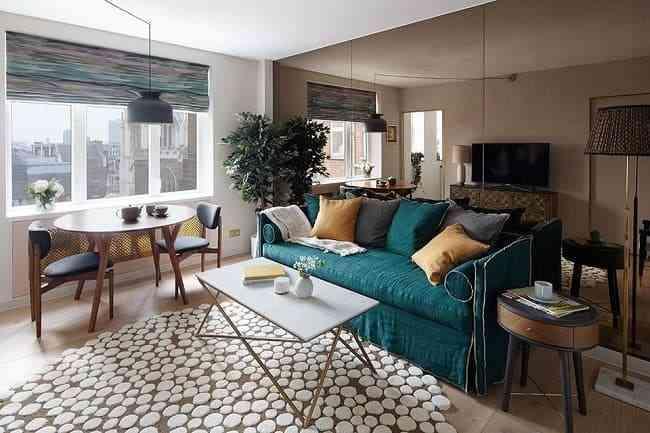 Mách bạn: Giải pháp trang trí phòng khách nhỏ gọn gàng, ngăn nắp - mach ban giai phap trang tri phong khach nho gon gang ngan nap
