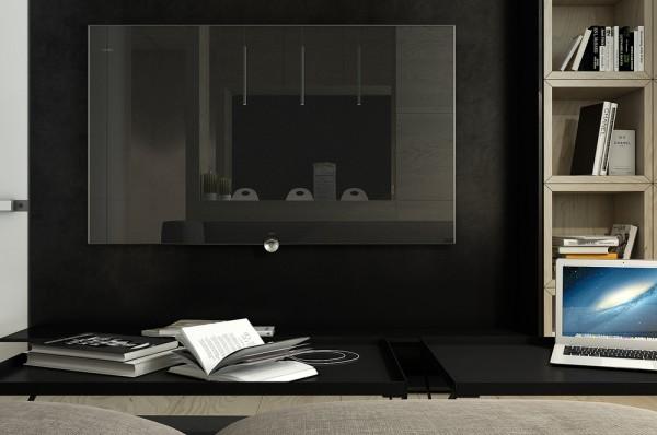 Mẫu thiết kế nhà sáng tạo và quyến rũ với gam màu trung tính - mau nha dep black and wood 600x398