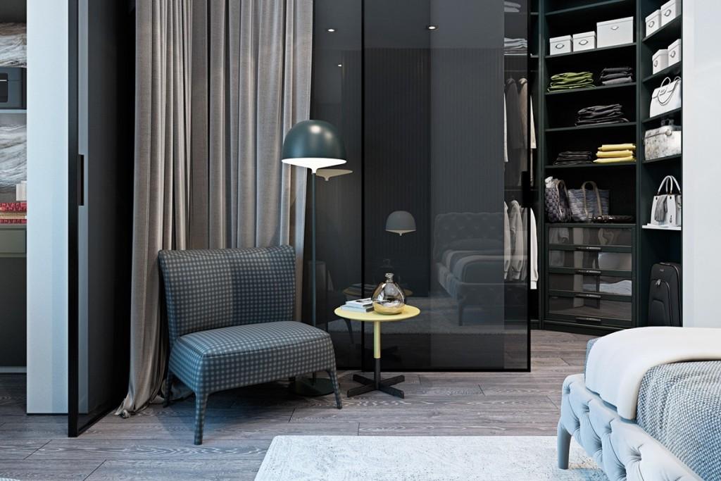 Thiết kế nhà gam màu tối và họa tiết bắt mắt - mau nha dep gorgeous walk in closet inspiration 1024x683