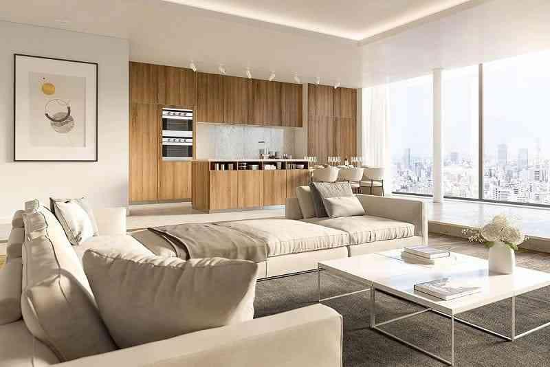 Mẫu nội thất đồ gỗ hiện đại phong cách châu âu (1)