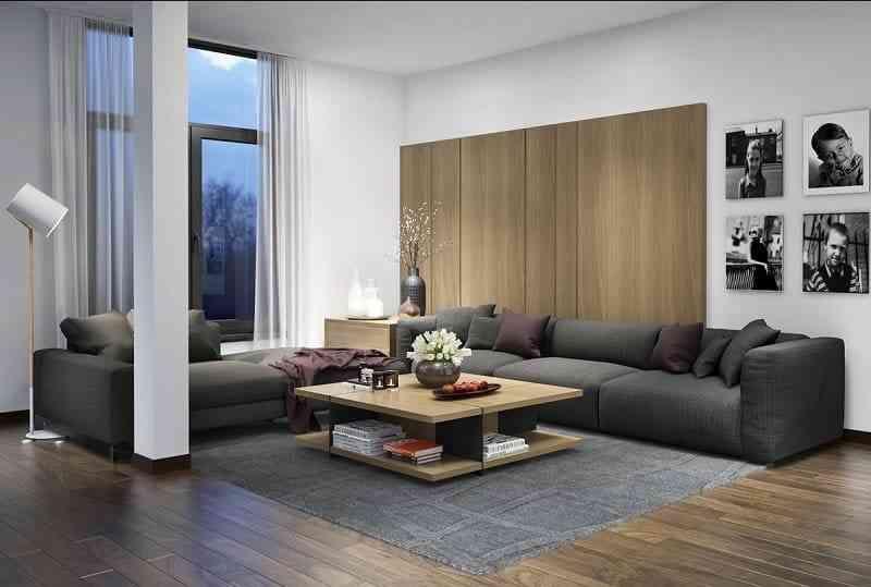 Mẫu nội thất đồ gỗ hiện đại phong cách châu âu (3)