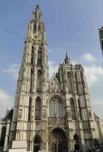 Những công trình kiến trúc Gothic nổi tiếng toàn thế giới - Nhà thờ Antwerp