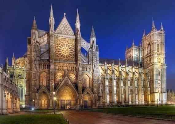 Những công trình kiến trúc Gothic nổi tiếng toàn thế giới - Nhà thờ Westminster Abbey