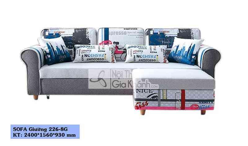 Sofa Bed - Sofa Giường - Sofa Đa Năng Sf226-8G