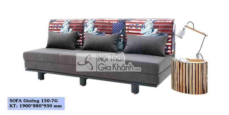 sofa giuong thong minh sofa bed o ha noi sf150 7g - Sofa giường thông minh - Sofa bed ở Hà Nội SF150-7G