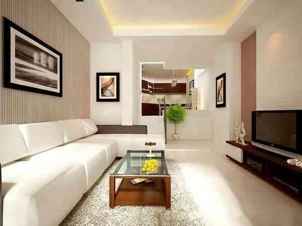 Sofa phòng khách nhà ống chọn làm sao cho đẹp? - sofa phong khach nha ong chon lam sao cho dep 1