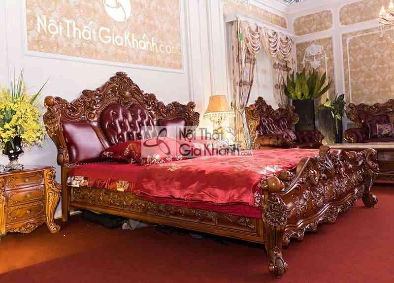 Tab đầu giường gỗ Gõ Đỏ cao cấp 926B