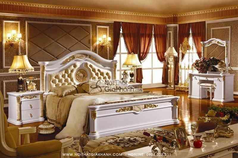 Táp đầu giường cổ điển KH3030B