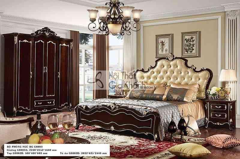 Tủ Đầu Giường Tân Cổ Điển Ta8802G