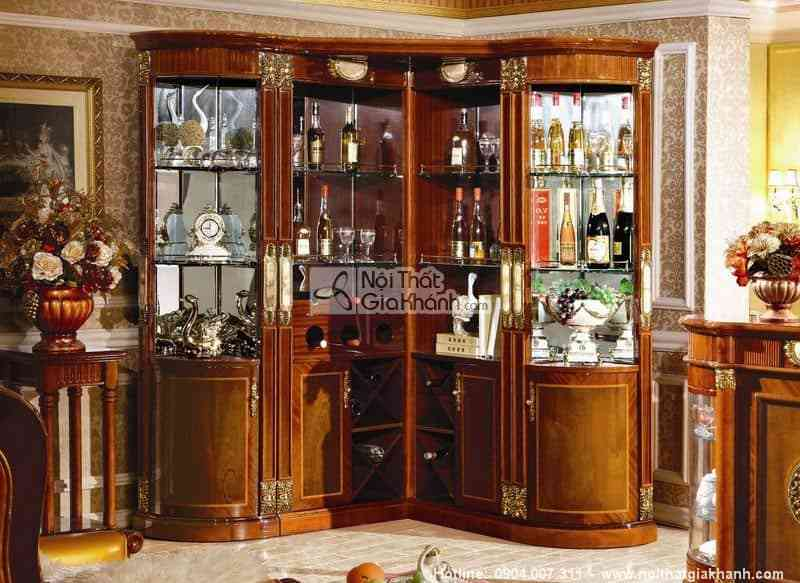 Tủ rượu phong cách cổ điển KH510-2B