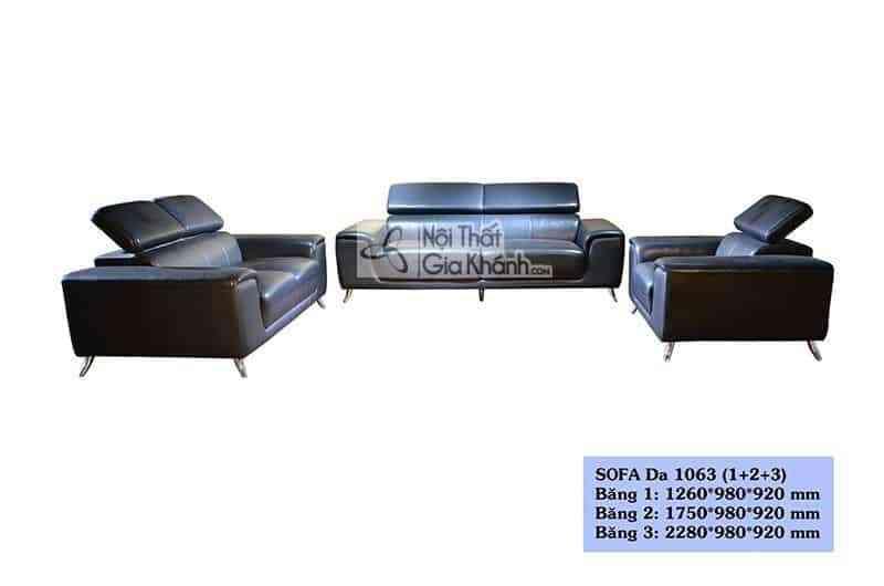 Bộ sofa tân cổ điển nỉ ba băng rời sang trọng cho phòng khách 1703SF
