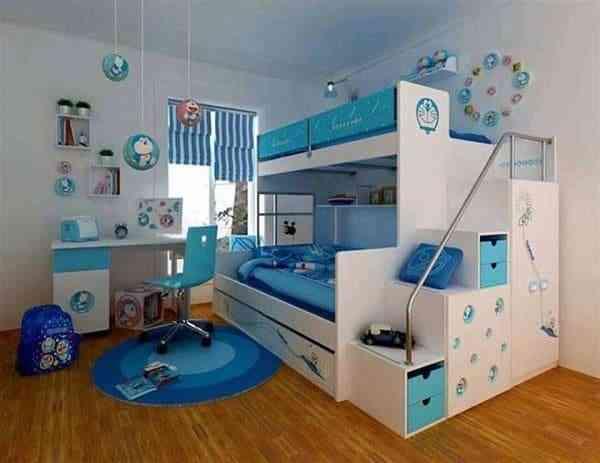 Các mẫu giường ngủ Doremon khiến các bé phát cuồng - cac mau giuong ngu doremon khien cac be phat cuong 2