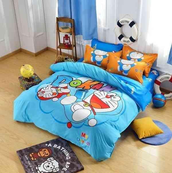 Các mẫu giường ngủ Doremon khiến các bé phát cuồng - cac mau giuong ngu doremon khien cac be phat cuong