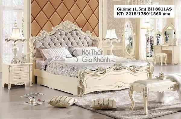 Những mẫu giường ngủ mới nhất tại Nội thất Gia Khánh (1)