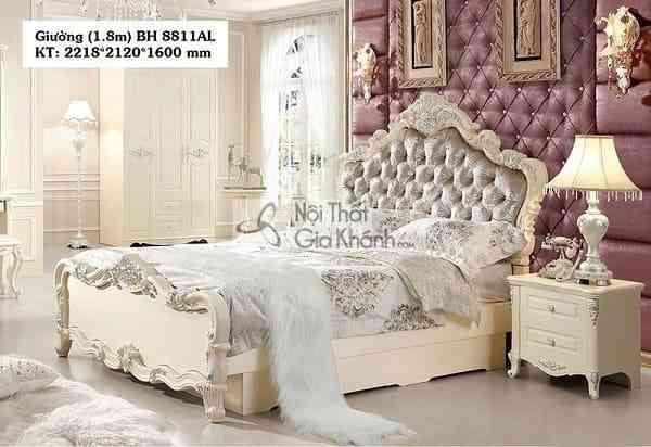 Những mẫu giường ngủ mới nhất tại Nội thất Gia Khánh (2)